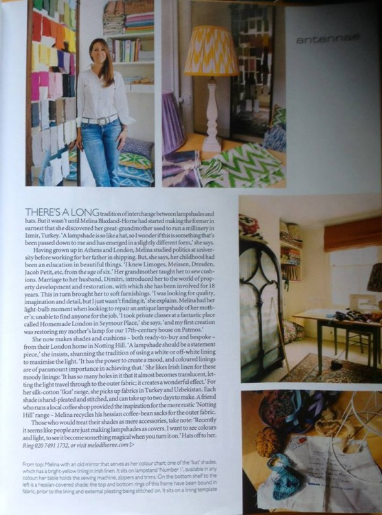 The World of Interiors, October issue...