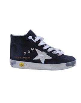 Unisex Navy Denim Francy Sneaker
