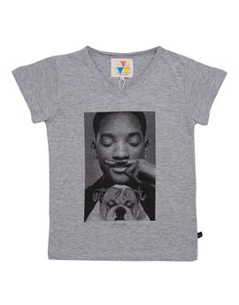 Unisex Grey 'Will Smith' T-Shirt