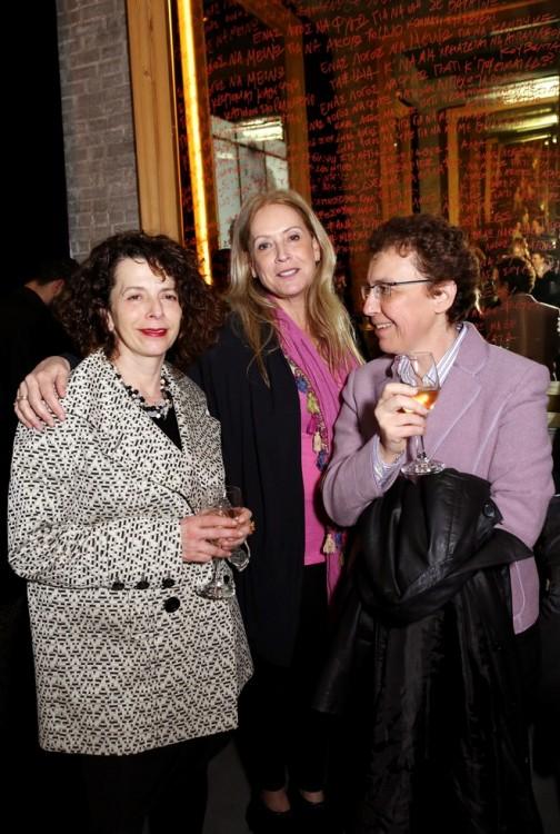 Τζένη Σταυροπούλου, Άννα Νταλάρα, Ντίνα Λάζαρη