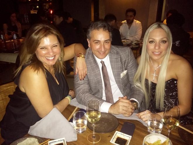 Με τον Sofyan Salah και την Ρόη Αποστολοπούλου, ίσως την πιο όμορφη και εντυπωσιακή παρουσία μέσα σε όλο το Novikov...