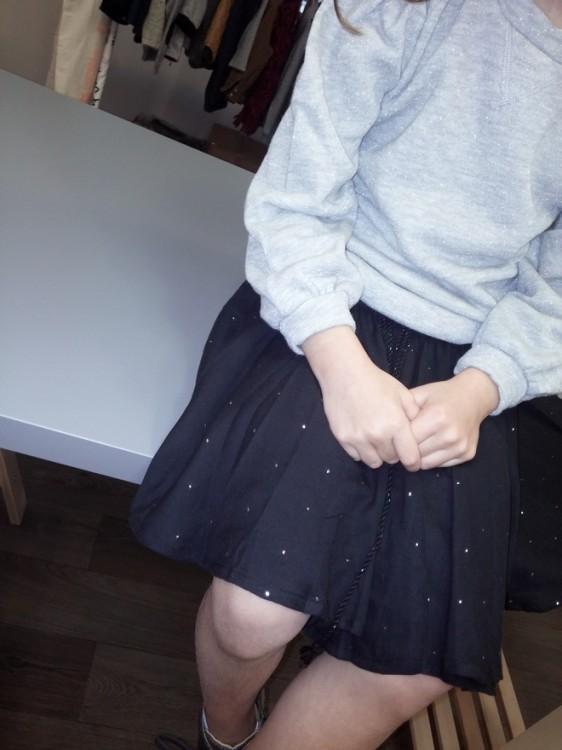 Muckesh Skirt-Black