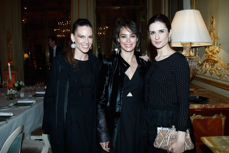 Hilary Swank, Livia Firth