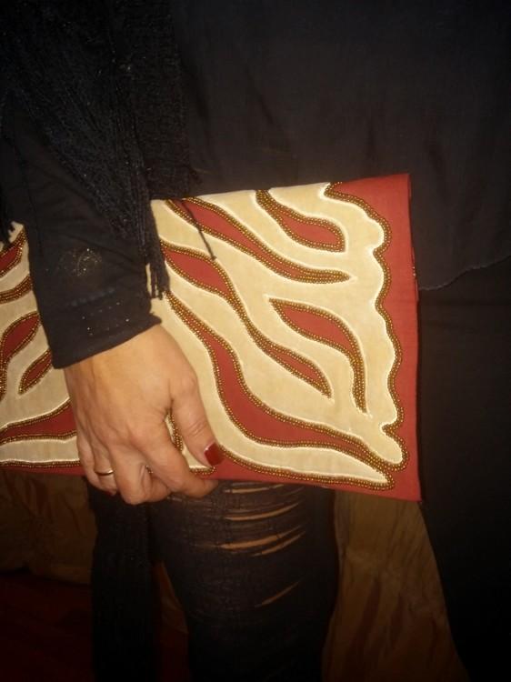 Και την αγαπημένη Christophe Sauvat τσάντα μου...