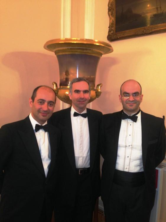 Παύλος Παπανικολάου, Παύλος Χόρν, Κωνσταντίνος Βάρσης
