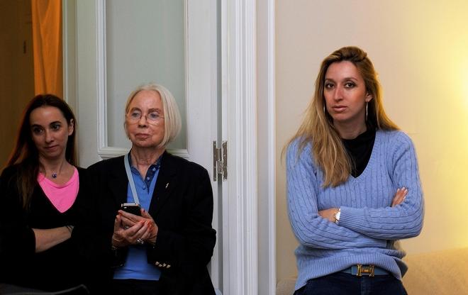 Η Τσικίτα Κεφάλα, με την μητέρα της και την  Έλενα Ντάβλα