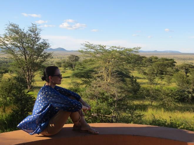 Η Εμμανουέλα στην Κένυα από όπου εμπνέυστηκε την φετινή της Συλλογή...