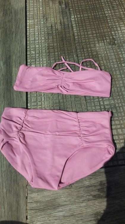 Vintage Bikini Mauve