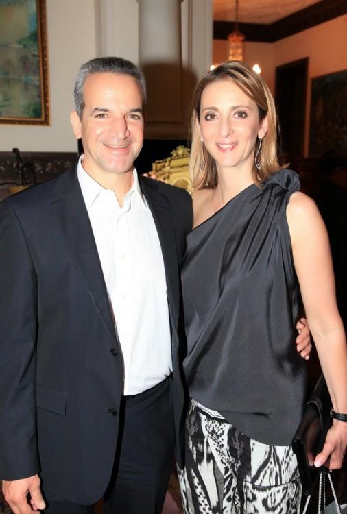 Τάκης και Νάντια Θεοχαράκη