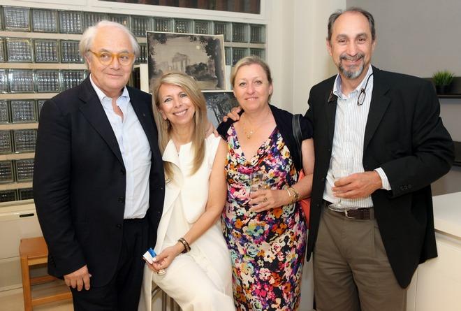 Ζέτα και Άρης Αντσακλής, Κωνσταντίνος και Νινέττα Κασκαρέλη