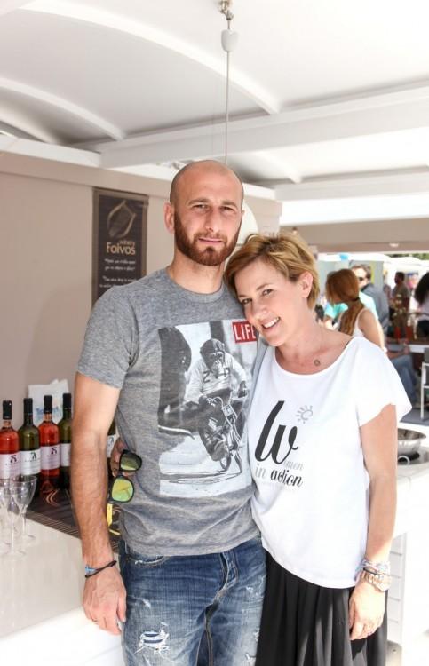 Δημήτρης Παπαδόπουλος, Αμαλία Κυπαρίσση