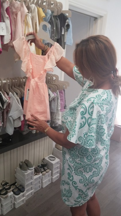Dress Paillette Coral
