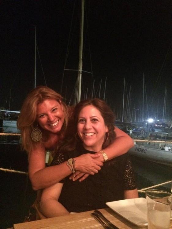 Με την Στέλλα Έλληνα Περβανά