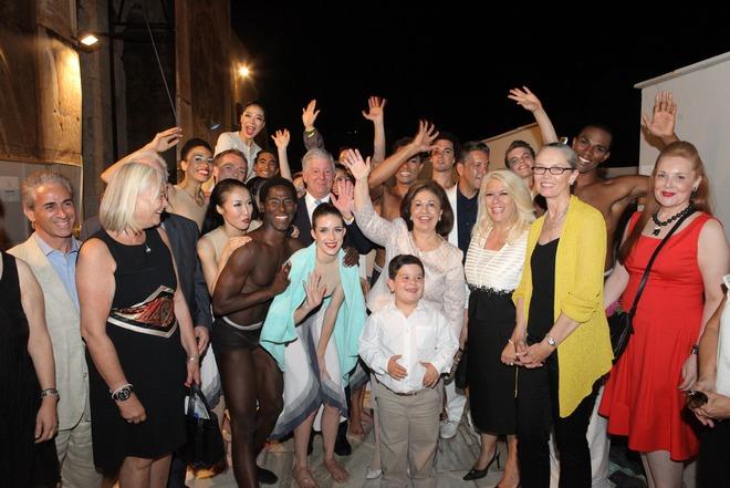 Γιάννης Σαχίνης, Τζάνις Τριποδάκη, πρίγκιπας Αλέξανδρος και πριγκίπισσα Αικατερίνη της Σερβίας, Ζήσης Μπουκουβάλας, Άντζυ Μαργαρίτη-Andrews, Janet Eilber, Ειρήνη Νταϊφά