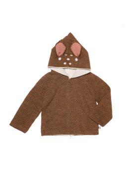 Unisex Baby Reversible Alpaca Animal Hoodie
