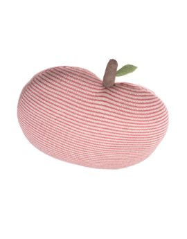 Baby Alpaca Knitted Apple Pillow