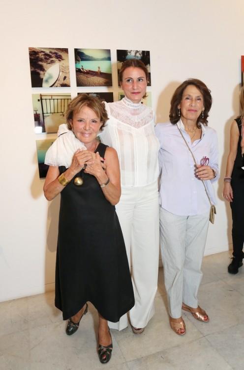 Πέγκυ Ζουμπουλάκη, Τατιάνα Καραπαναγιώτη, Χριστίνα Καρέλλα