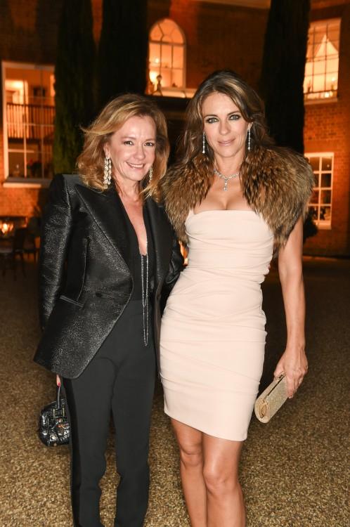 Caroline Scheufele & Liz Hurley