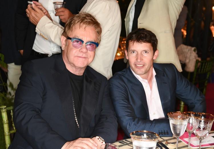 Elton John & James Blunt.