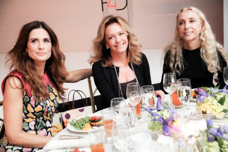 Livia Firth, Caroline Sceufele, Franca Sozzani