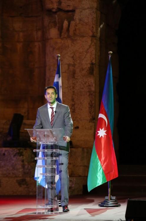 Ο Πρέσβης του Αζερμπαιτζάν στην Ελλάδα, κύριος Rahman Mustafayev