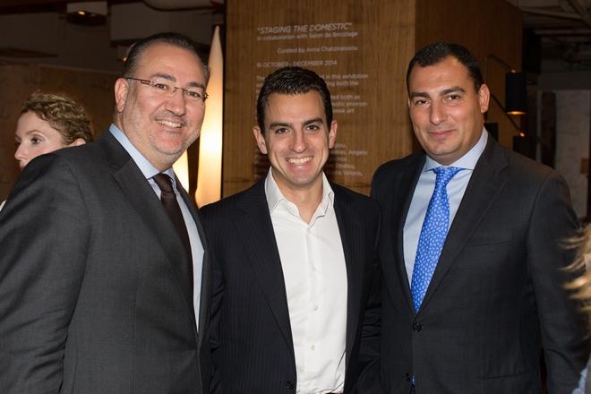 Yiorgos Linatsas, Alexis Ateslis, Dimitris Athanasopoulos