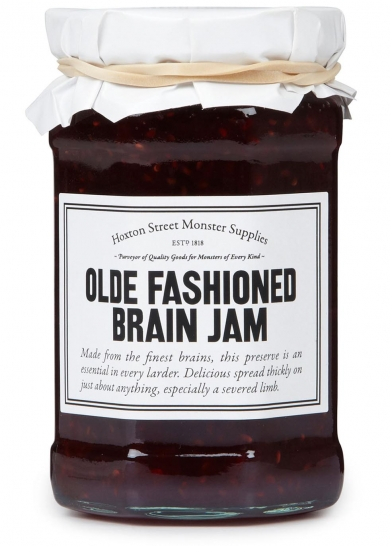 Fueling the imagination of the next generation, brain jam should be an essential in every young monster's larder