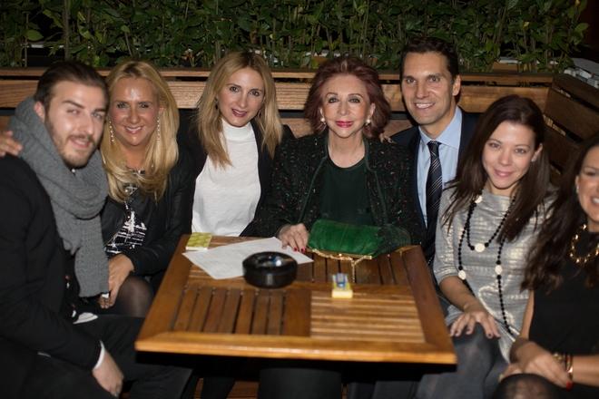 Gabriel Eliopoulos, Maria Hatzipatera, Alexia Souferi, Chrysanthi Laimou, Makis Pepas, Sofia Konstantopoulou