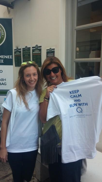 Με την Μίκα Μακρυμίχαλου της Quintessentially, στηρίζοντας την Μέριμνα και το MDA Hellas