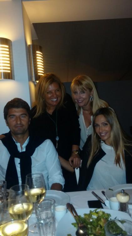 Με τον Ίλια Ίβιτς, την Εένη Πετρουλάκη και την Φωτεινή Μπαμπανάρα