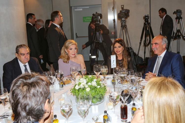 Άντζελα Γκερέκου, Rahman Mustafayev, Πρέσβυς του Αζερμπαϊτζάν στην Ελλάδα
