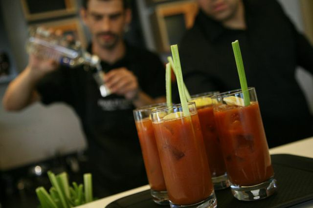 More Bloody Marys...