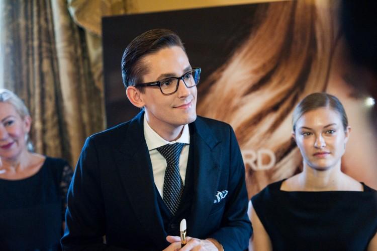 O Matthew Tyler, International Education Director της μάρκας που παρευρέθηκε στην Ελλάδα ειδικά για την εκδήλωση..