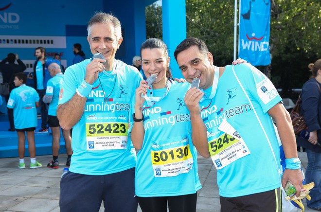 The Wind Team: Σωκράτης Αλαφούζος, Νικολέτα Ράλλη, Στέλιος Κωνσταντινίδης