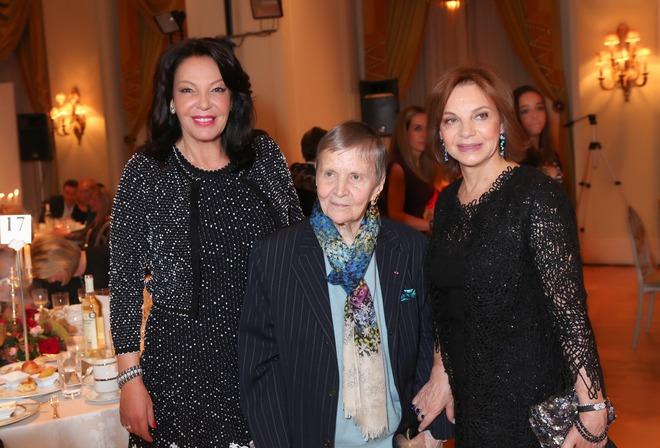 Κατερίνα Παναγοπούλου, Ελένη Γλύκατζη-Αρβελέρ, Δήμητρα Φιλίππου