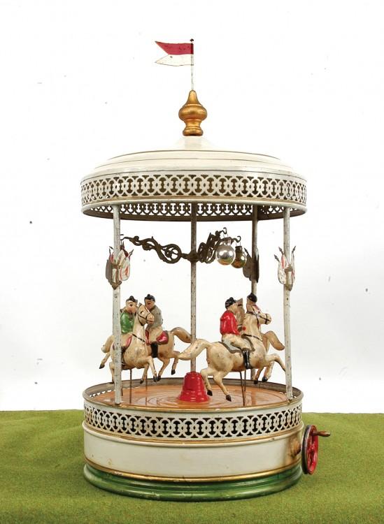 Doll tinplate carousel