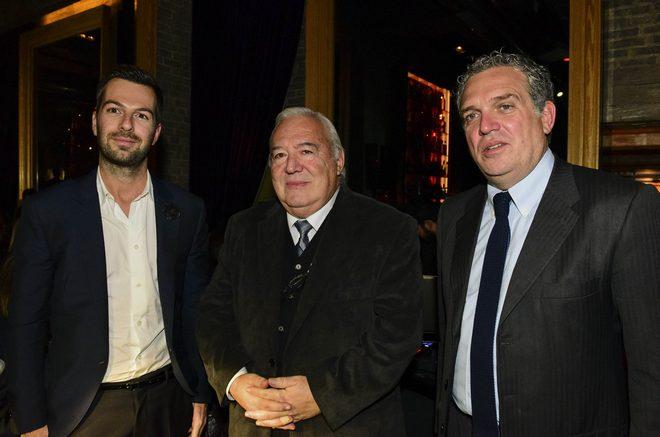 Ο Χρήστος Μαρκογιαννάκης, ο καθηγητής Εγκληματολογίας Ιάκωβος Φαρσεδάκης και ο Χρήστος Ζαμπούνης