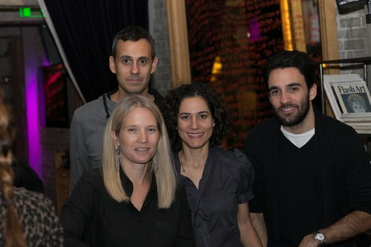 Ο ποιητής Ανδρέας Κέντζος, Ντόρα Παΐσίου, Κατερίνα Μονόπωλη, Θωμάς Γάτος