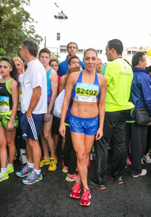 Η Ροη Αποστολοπούλου, πρώτη στην κατηγορία της στο Spetses Mini Marathon, δεν θα μπορούσε να λείπει από τον 32ο Κλασικό Μαραθώνιο της Αθήνας
