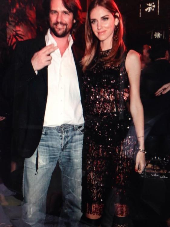 Golden couple: Βλάσης Χολέβας, Chiara Ferragni...