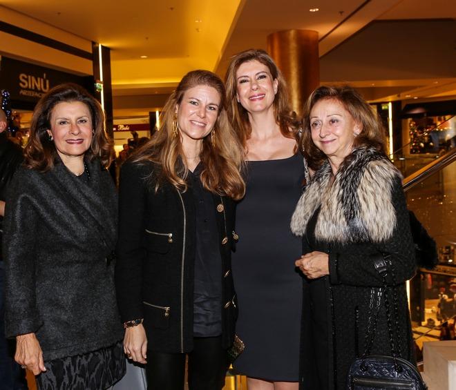 Μάιρα Τσαβλίρη, Σοφία Δοξιάδη, Hala Khoury, Νέλλη Δόξα
