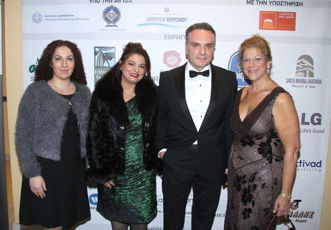 Τόνια Αθανασέλη, Μαρία και Σωτήρης Κομματάς, Ευγενία Χανδρή
