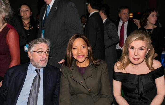 Robert De Niro, Grace Hightower De Niro, Μαριάννα Β. Βαρδινογιάννη