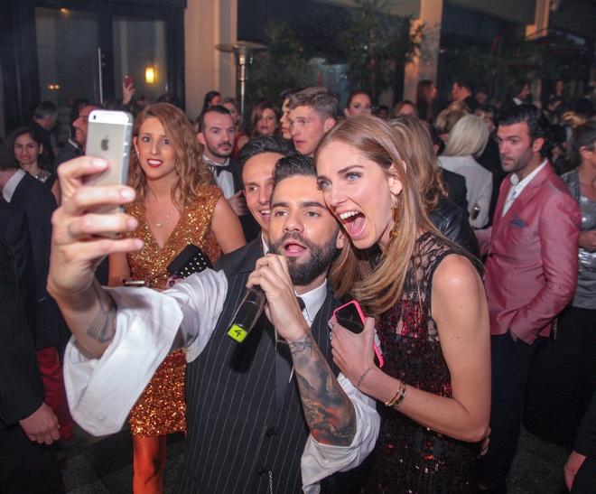 Let's selfie: Θοδωρής Μαραντίνης, Chiara Ferragni