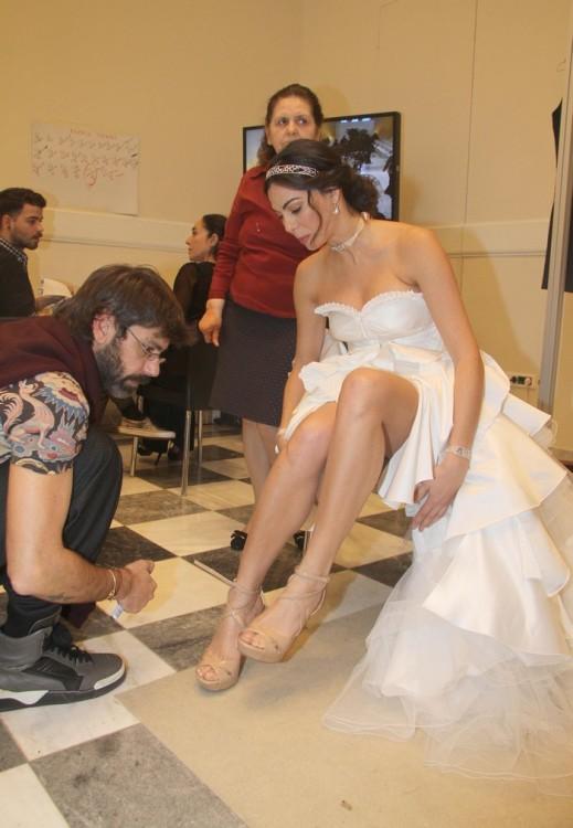 Η προετοιμασία της νύφης...