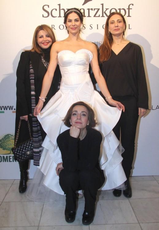 Τίνα Σιδέρη, Εύη Βατίδου, Αναστασία Ζαννή, Andria Thomais