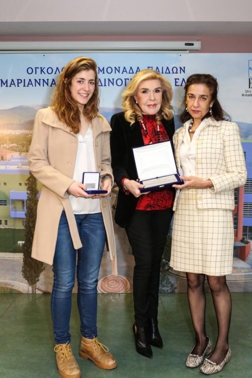 Irene Lucini, Μαριάννα Β. Βαρδινογιάννη, Carmen Lucini