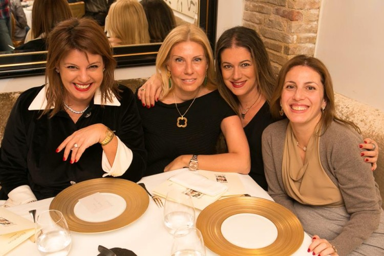 Με τις αγαπημένες μου Λίλιαν Βαρβιτσιώτη, Σαλώμη Φλουτάκου και Μαρίλυ Καλαβρού