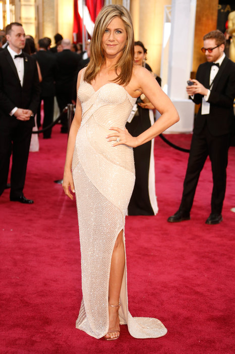 Jennifer Aniston in Versace