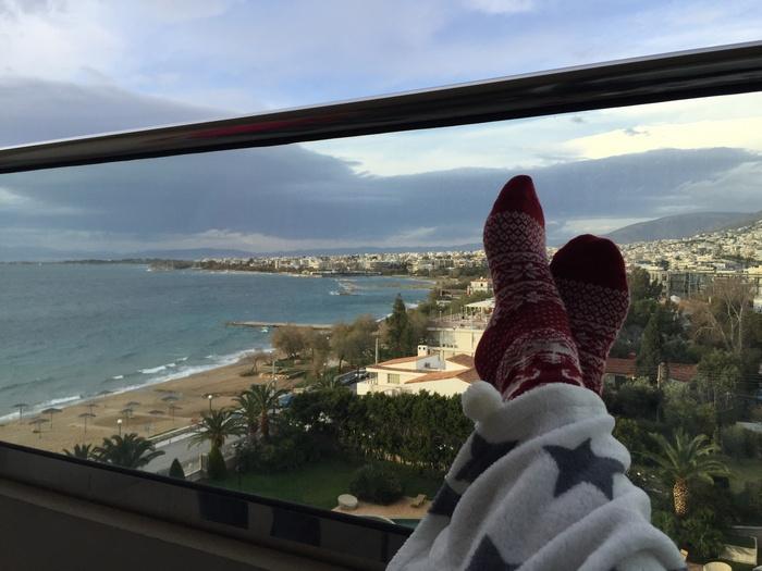 Η Αθηναϊκή Ριβιέρα στα πόδια μου...Στιγμές απόλυτης χαλάρωσης μέχρι τα επόμενα treatments μου...